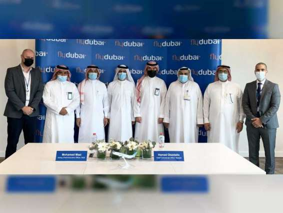 flydubai signs AED100 million agreement with Saudi Ground Services Company