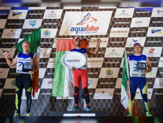 إنجاز إماراتي جديد .. الملا بطلا لمونديال الدراجات المائية في إيطاليا