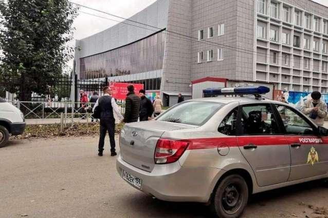 Nineteen People Injured in Russia's Perm University Shooting - Emergencies