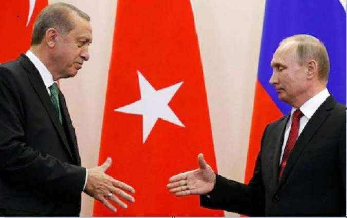 Putin, Erdogan to Discuss Bilateral Relations During Turkish Leader's Visit - Kremlin