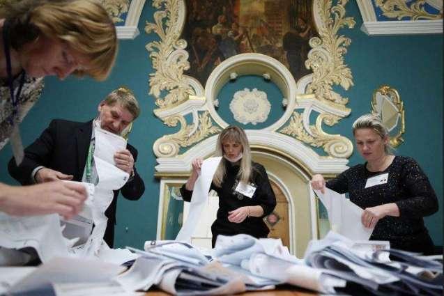 United Russia Confirmed Leadership - Kremlin After Parliamentary Vote