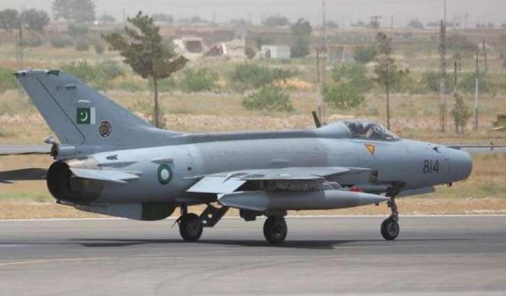 PAF Trainer jet crashes near Mardan