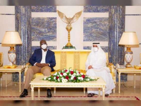 Fujairah Ruler receives Nigerian Minister of Petroleum Resources, OPEC Secretary-General