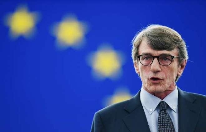 European Parliament Head Leaves Hospital After Pneumonia Treatement