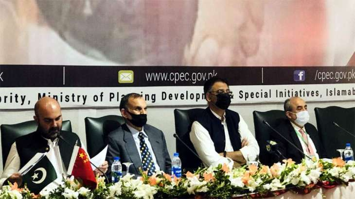 Asad Umar reiterates Pakistan's commitment to multi billion dollars CPEC project