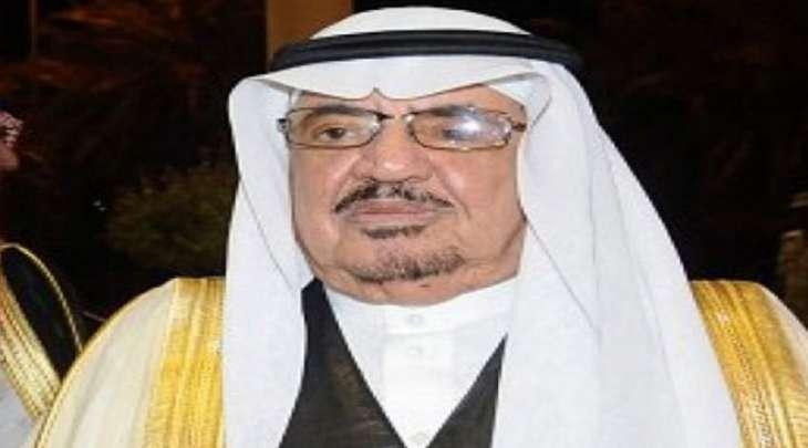 وفاة الأمیر السعودي عبدالرحمن بن ناصر بن سعود