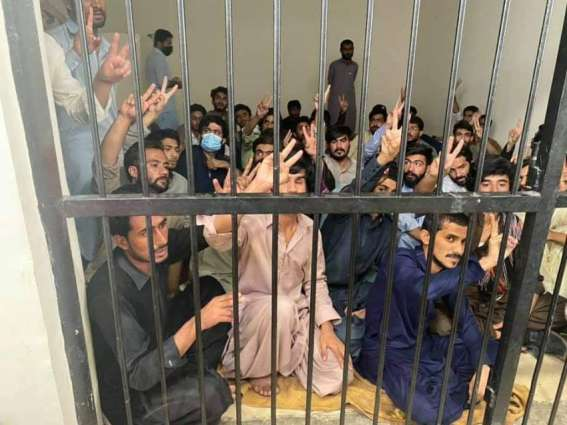 Quetta Police put protesting students behind bars