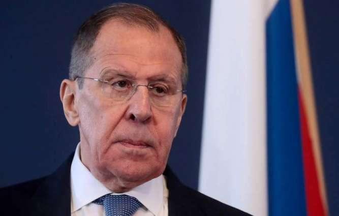 Lavrov: Vital to Ensure US Weapons Left in Afghanistan Not Used for Destructive Goals