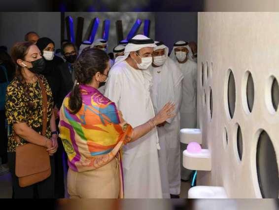 Zaki Nusseibeh inspects UAEU Pavilion at Expo 2020 Dubai