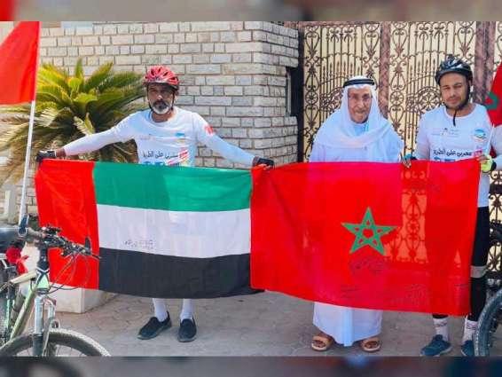 عبدالملك القاسمي يستقبل رحالة من المغرب