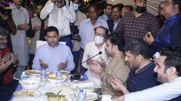 Arts Council of Pakistan Karachi hosted Dawat-e-Haleem, Niaz-e-Imam Hussain (R.A) for its members and their families