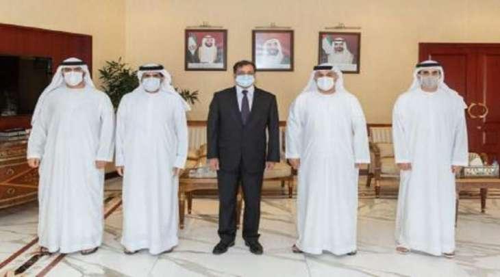 سفیر باکستان لدی دولة الامارات یجتمع بمدیر عام غرفة تجارة و صناعة أبوظبي