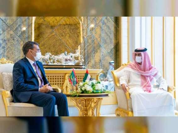 Ajman Crown Prince receives Ambassador of Mauritania
