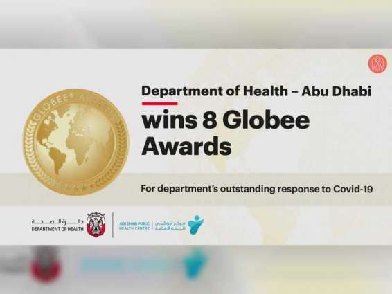 Abu Dhabi's Department of Health, Public Health Centre win 8 Globee Business Awards