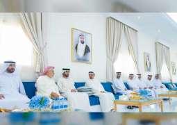 حميد النعيمي يزور قاعة أمين الشرفاء بمنطقة مشيرف في عجمان
