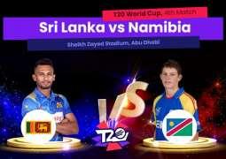 T20 World Cup 2021 Match 04 Sri Lanka Vs. Namibia, Live Score, History, Who Will Win