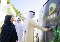 راشد النعيمي يدشن مشروع المركبة ذاتية القيادة في عجمان