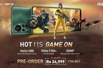 Infinix HOT 11S, a gaming champion is now available across Pakistan!