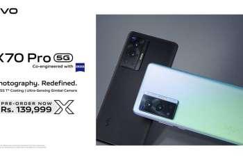 vivo Announces the Launch of X70 Pro in Pakistan
