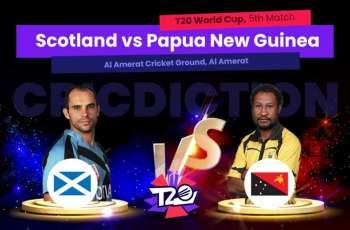 T20 World Cup 2021 Match 05 Scotland Vs. Papua New Guinea (PNG), Live Score, History, Who Will Win