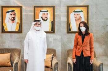 DEWA CEO Saeed Al Tayer meets US Consul General to Dubai