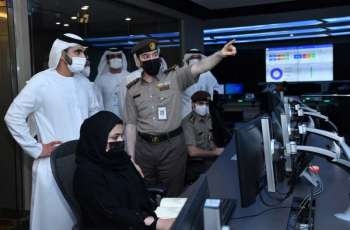 Mansoor bin Mohammed visits DXB to review operations and efforts to deliver seamless customer experience