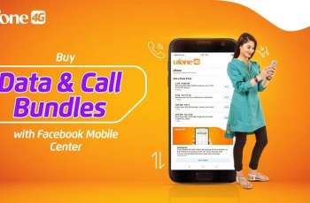 Ufone subscribers can now purchase call and data bundles within the Facebook app