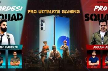 OPPO Reno6 Pro 5G to host a thrilling PUBG livestream event with Pakistan's Top Gamers