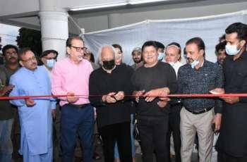 Arts Council of Pakistan Karachi organized the Sculpture Show, a tribute to Sadequain by Anjum Ayaz
