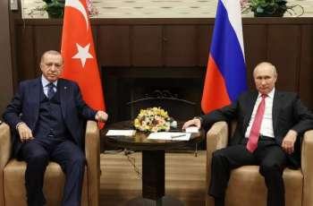 Turkish Defense Minister Notes Stabilization in Syria's Idlib After Putin-Erdogan Meeting