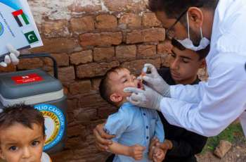 UAE PAP administers 583 million doses of polio vaccine to over 102 million children in Pakistan