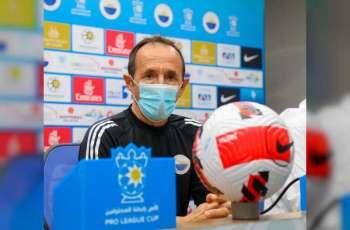 نادي الشارقة لكرة القدم يعين الإسبانيخوان كارلوس أوليفا خلفا للمدرب العنبري.