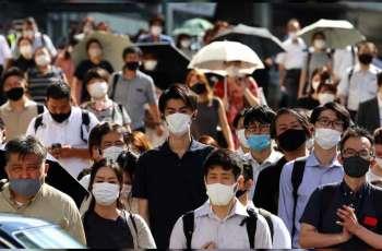 """اليابان تسجل 285 إصابة جديدة بفيروس """"كورونا"""" و5 وفيات"""