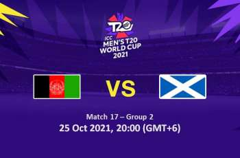 T20 World Cup 2021 Match 17 Afghanistan Vs. Scotland, Live Score, History, Who Will Win