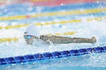 3 ذهبيات للإمارات في منافسات اليوم الثاني للبطولة العربية للسباحة