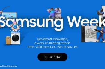 Samsung Electronics kicks off 'Samsung Week' with exceptional offers and discounts