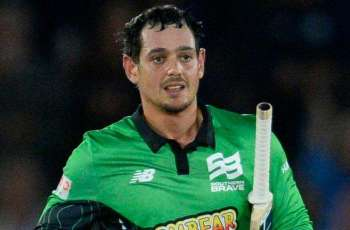 Quiton de Kock apologizes for pulling out of match West Indies