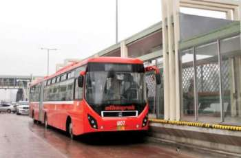 Metro bus services partially closed in Rawalpindi
