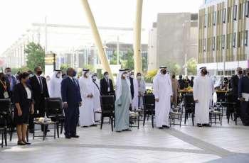 بحضور نهيان بن مبارك .. رئيس سيشيل يشهد احتفال بلاده بيومها الوطني في إكسبو 2020