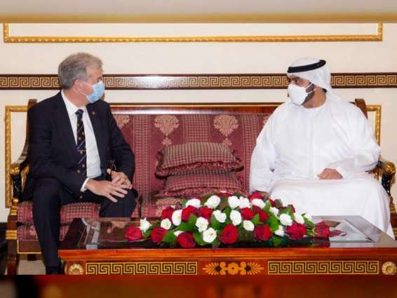 Fujairah Crown Prince receives Jersey Chief Minister